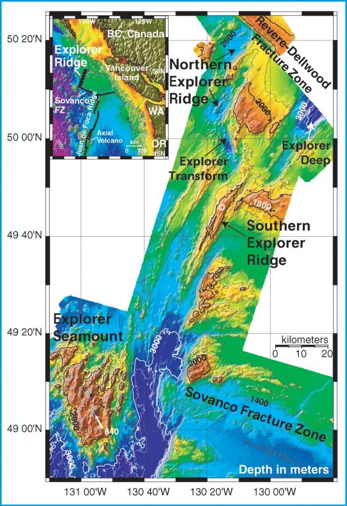 Southern Explorer Ridge