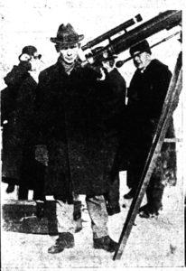 Long`s Corners Eclipse Trip Jan 24th 1925 - Chant